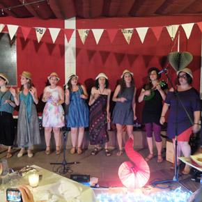 IX Nit de Música a la Fresca amb les  Maneles i Lluïses